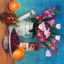 今描いてる静物画の記事に添付されている画像