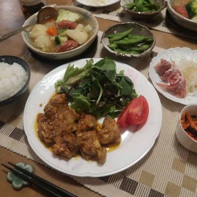 タンドリーチキンとポトフの晩ご飯 と プルモナリアの花♪の記事に添付されている画像