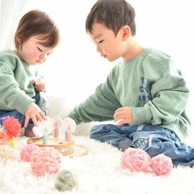 3歳1歳Birthday photo♡の記事に添付されている画像