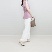 titivateの新作春色ウエストマークブラウスで季節先取りコーデ!の記事に添付されている画像