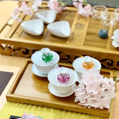 桜リースと中国茶の記事に添付されている画像