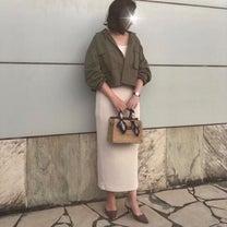 GU買って良かったベスト3に入る私の中の神スカート/髪型についての記事に添付されている画像