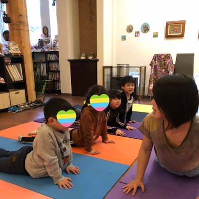 【SKIP~KIDS YOGA】3/18終了♪♪の記事に添付されている画像