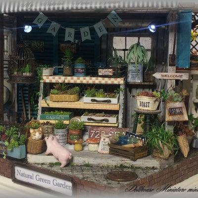 miniminiclubs ドールハウス ミニチュア ジャンク ガーデン ガーデの記事に添付されている画像