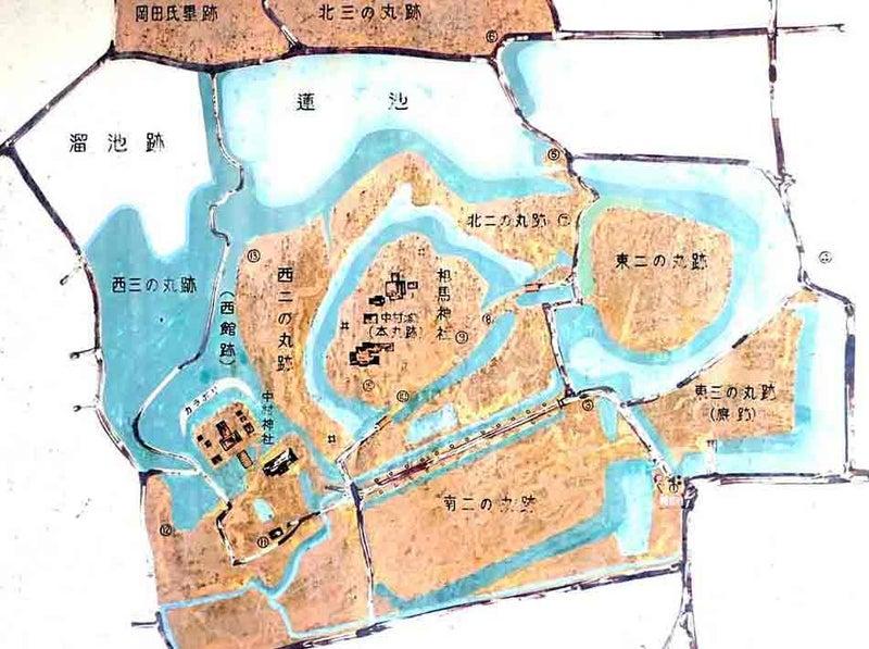 【図】相馬中村城
