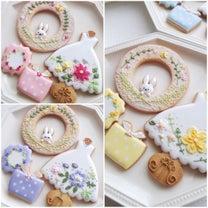 素敵な花刺繍が続々!の記事に添付されている画像