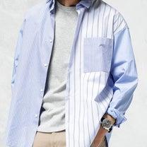 二宮和也くん 着用衣装 嵐にしやがれ 3/30放送★ストライプ柄シャツの記事に添付されている画像