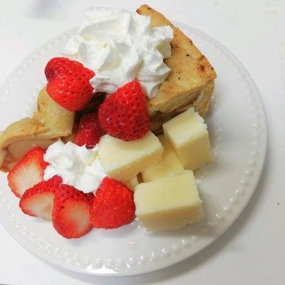 業務スーパーのアメリカンなアップルパイでお祝い♡の記事に添付されている画像