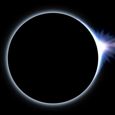 今年の春分は宇宙のダイヤモンドの煌めきの記事に添付されている画像