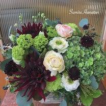 感謝のお花の記事に添付されている画像