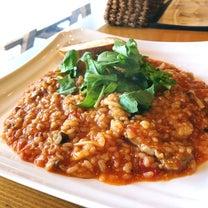 豚肉と茸、ルッコラのトマトリゾット@フィーノの記事に添付されている画像