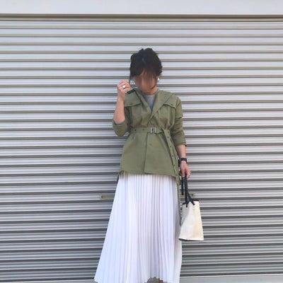 今年顔なプリーツスカートで春コーデとお得なクーポン!の記事に添付されている画像