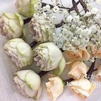 お届け商品(ヘッドの花)の記事に添付されている画像