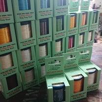 手縫いの糸。 Yue Fung Poly Braid Thrad ユーフェン ポの記事に添付されている画像