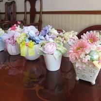 謝恩会のテーブル装花♪の記事に添付されている画像