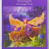 宇宙元旦 今のあなたへカードからメッセージです「力~大天使アリエル~」の記事に添付されている画像