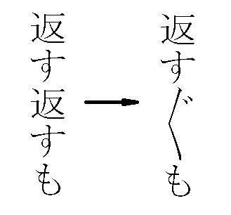 ぎやまん亭主のブログ踊り字