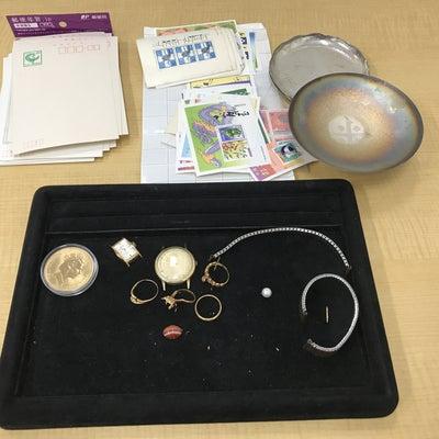 【まとめて売るなら高価買取おまかせ屋】貴金属銀杯時計切手ハガキシルバー製品金リンの記事に添付されている画像