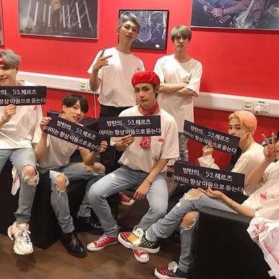 BTS オフィシャル bighitの記事に添付されている画像