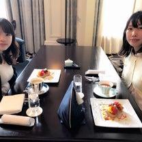 【Instagram】東京ステーションホテルにて女子トークの記事に添付されている画像