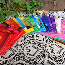 曼荼羅アートとカラーセラピーの記事に添付されている画像