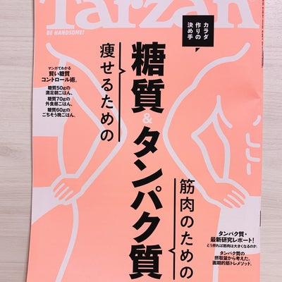 新しいTarzanの記事に添付されている画像
