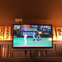 MLB中継の記事に添付されている画像