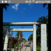 今日は2つの神社へ、お参りにの記事に添付されている画像