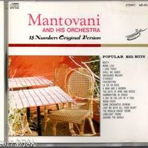『ムーラン・ルージュのテーマ』:マントヴァーニ・オーケストラ カスケーディング・の記事に添付されている画像