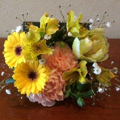 お見舞いのお花の記事に添付されている画像