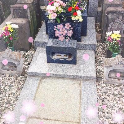私の1日の任務完了✩今日のお墓参り&神社♬の記事に添付されている画像