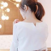 Roomy's♡チャーム付き袖シフォンブラウスの記事に添付されている画像