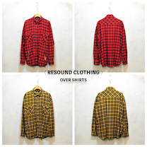 〈RESOUND CLOTHING〉の オーバーチェックシャツの記事に添付されている画像