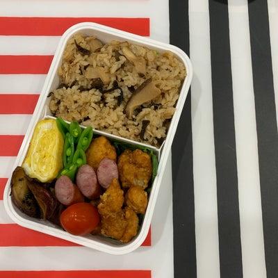 おべんとーう、お弁当。キクラゲの炊き込みご飯。の記事に添付されている画像