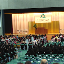 卒業式の記事に添付されている画像