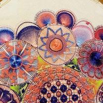 【ニャンドゥティ】40cm木枠で大きな作品を制作中④の記事に添付されている画像