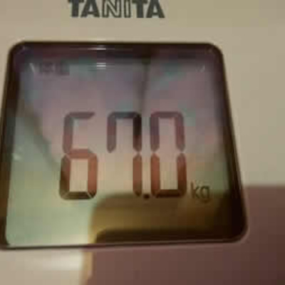 66日目 体重77.0kg⇒67.0kg体脂肪率21.3%⇒14.2%♪こしあんの記事に添付されている画像