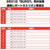 【BURST(バースト)】(千葉県)ミリオン幕張店 3月21日《速報レポート》の画像