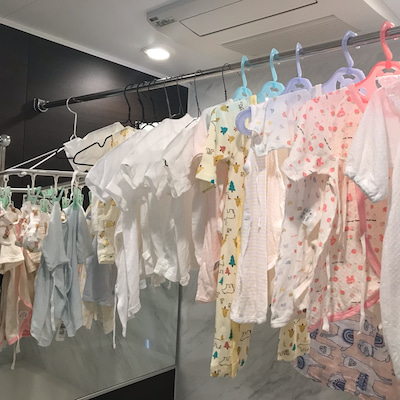 ベビー服の水通し【妊娠9ヶ月】の記事に添付されている画像