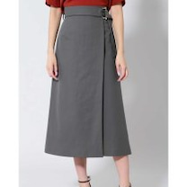 B ability新着ベルト付ロングスカート/上質な素材と旬なデザインのデイリーの記事に添付されている画像