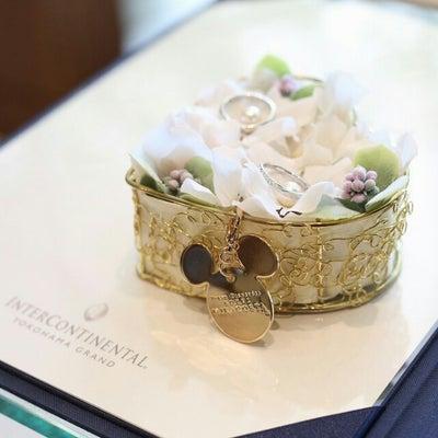 【当日レポ】⑦指輪の交換の記事に添付されている画像