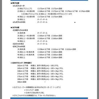 【2019/03/22】フィットネス講習会からの←追記あり