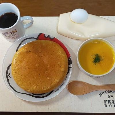 キャロット&パンプキンポタージュなパンケーキの記事に添付されている画像