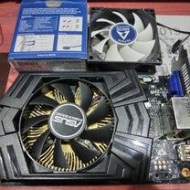 ASUS GEFORCE GTX750Tiのファンを交換修理の記事に添付されている画像