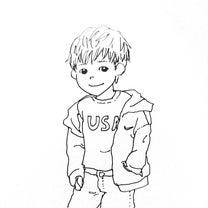 5歳男児のこだわりファッションの記事に添付されている画像