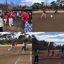 3/21 強風の中での野球の記事に添付されている画像