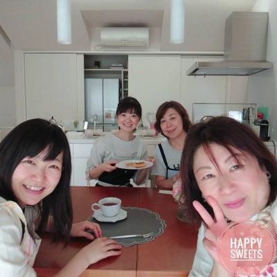 賑やかレッスンレポ・米粉のタタン風ケーキの記事に添付されている画像