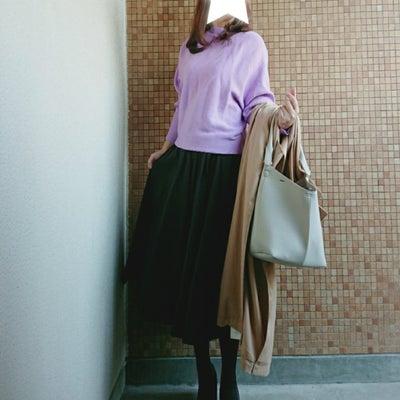 ママコーデ*titivate春色ドルマン×シンプルSKコーデ♥今日の目玉タイムセの記事に添付されている画像