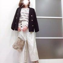 【全身GU】驚かれた褒められマリンコーデ♡の記事に添付されている画像