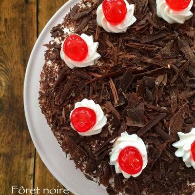 黒い森のケーキの記事に添付されている画像